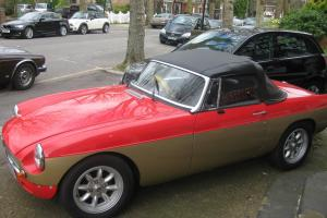 1978 MGB ROADSTER GOLD/RED  Photo