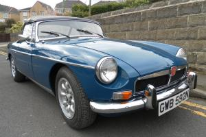 MGB Roadster 1974 Chrome bumper Full MOT