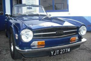 1974 Triumph TR6 2500cc  Photo