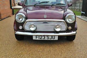 1989 AUSTIN MINI THIRTY RED (with stage 1 performance kit)