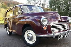 1969 morris minor traveller,replaced wood,unleaded head, recon gearbox,