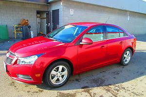 Chevrolet : Cruze LT Turbo with connectivity (USB) Extended Warranty