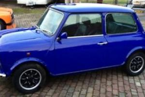 1998 ROVER MINI PAUL SMITH BLUE mpi 1998 32000 miles 2 owners