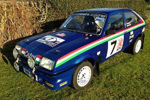 82 RWD VAUXHALL CHEVETTE 2.0 RALLY TRACK DRIFT CAR HSR WING