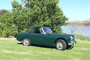 Austin Healey Sprite MK Iiia Sports 1966 2D Roadster 4 SP Manual 1 1L Carb