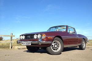 Triumph Stag 5 speed with rover 3.5 V8  Photo