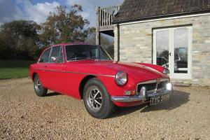 1973 MGB GT Overdrive, Webasto Sunroof, Unleaded. Excellent Restored Example