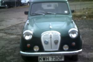 1968 AUSTIN A35 VAN TAXED AND TESTED 2 FORMER KEEPERS STARTS AND DRIVES WELL