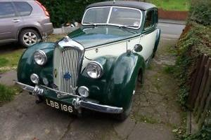 1947 RILEY RMA GREEN/WHITE 1.5 LOVELY CAR LOTS OF CHARACTER