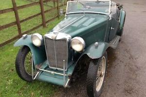 1949 MG TC - Dry stored since 1978