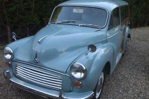Morris Minor Traveller 1970. Mot
