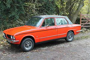 1978 Triumph Dolomite Sprint, freshly restored.  Photo