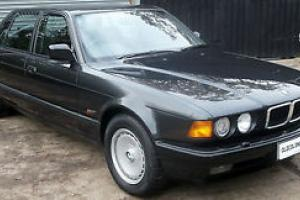 1989 BMW 750 IL - ONLY 51,000 Miles- FSH - Immaculate V12- YEARS MOT - WARRANTY