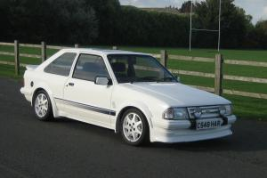 1985 FORD ESCORT RS TURBO WHITE SERIES 1 ONLY 69000 MILES LOADS OF SRVICE HISTOR