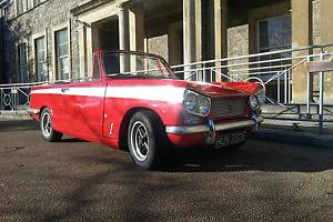 triumph vitesse mk1. genuine convertible, complete ground up resto.