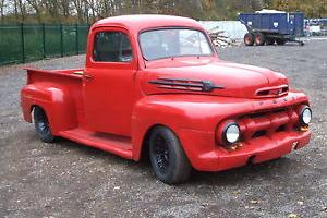FORD F1 PICK UP TRUCK 1952 RAT ROD HOTROD V8 350 CHEVY CLASSIC AMERICAN