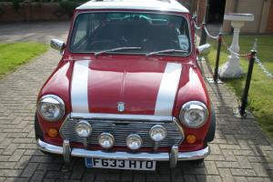 1988 AUSTIN MINI MAYFAIR RED