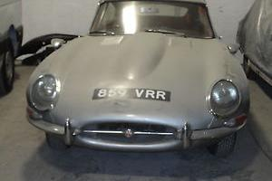 1964 E TYPE COUPE - LIGHT RESTORATION
