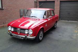 ALFA ROMEO GIULIA SUPER 1.6 RED 1971