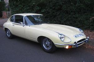 Jaguar E Type Rhd-auto  Photo