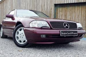 1998 Mercedes-Benz SL 320 in immaculate condition throughout
