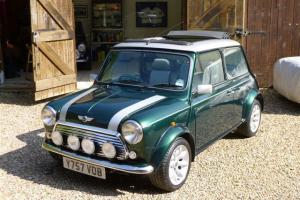 2001 ROVER MINI CLASSIC COOPER S500 GREEN/SILVER  Photo