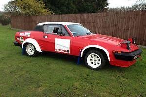 Triumph TR8 rally car , race , track , sprint historic  Photo