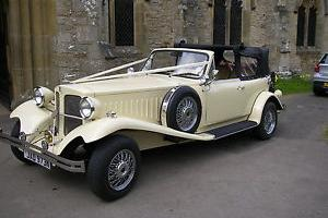 1975 BEAUFORD TOURER CREAM - Great wedding car - available from January 12th
