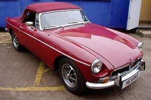 MG MGBGT MGB ROADSTER MG SALES MIDGET  Photo