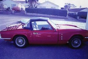 TRIUMPH SPITFIRE RED  Photo