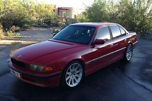 "BMW : 7-Series ""M""  Imola Red Sport"