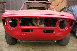 Alfa Romeo 1300 GTJ Step front fitted 1750 GTV engine and box.