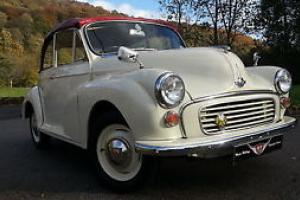 Morris Minor convertible, original Tourer, newly refurbished,new wings and paint