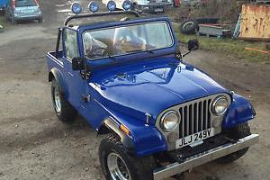 CJ7 Renegade Jeep 1980