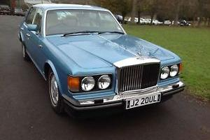 1992 BENTLEY MULSANNE S AUTO BLUE