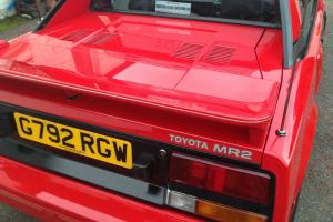1990 Red Toyota MR2 MK1 Genuine 46K Miles 3 Owners