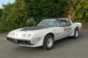 1980 TURBO 4.9 TRANS AM INDY PACE CAR  Photo