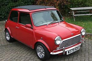 2000 ROVER MINI SEVEN with a full Wood