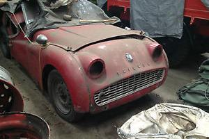 TRIUMPH TR3  Photo