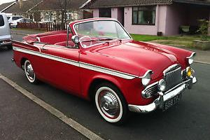 SUNBEAM RAPIER SERIES III CONVERTIBLE 1961 CLASSIC CAR