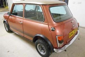 1979 Mini 1100 Special 20th Anniversary Edition Immaculate Show