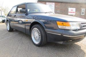 SAAB 900 TURBO CLASSIC 16 VALVE S 3 DOOR LE MANS BLUE 01323 449908