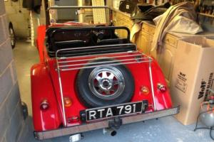 MOSS long MOT Free road tax
