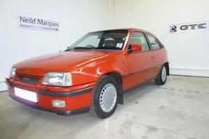 SHOW WINNING Vauxhall Astra GTE 2.0 8v Only 75,000 miles from new