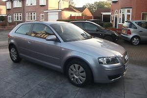2006 AUDI A3 SPECIAL EDITION SILVER 78000 MLS TAX AND MOT HISTORY NO RESERVE