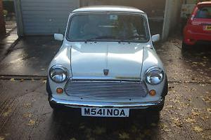 1994 ROVER MINI MAYFAIR WHITE ONLY 12,500 MILES STUNNING RARE CLASSIC  Photo