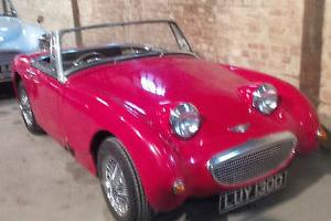 1966 AUSTIN HEALEY FROGEYE SPRITE RECREATION WITH MANY UPGRADES...