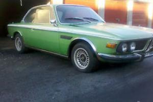 1972 BMW E9 3.0 CSL TAIGA GREEN Restoration Project-Very Rare Motoring Icon