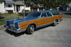 1974 MERCURY GRAND MARQUIS COLONY PARK WOODY WAGON