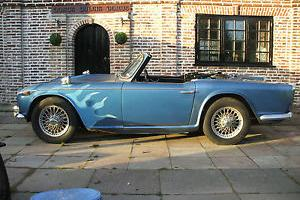 TRIUMPH TR4 GOOD RUNNER WIRE WHEELS 1964  Photo